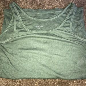 Hunter green tank top
